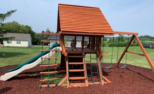 New playground ready