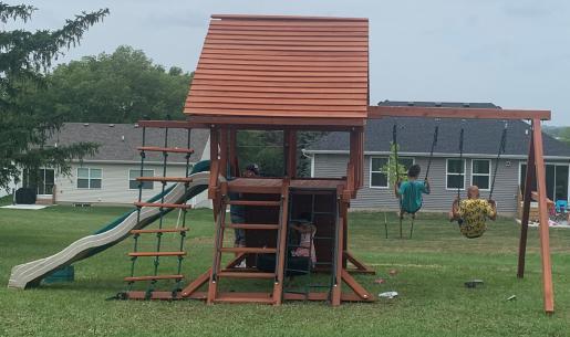 New playground complete