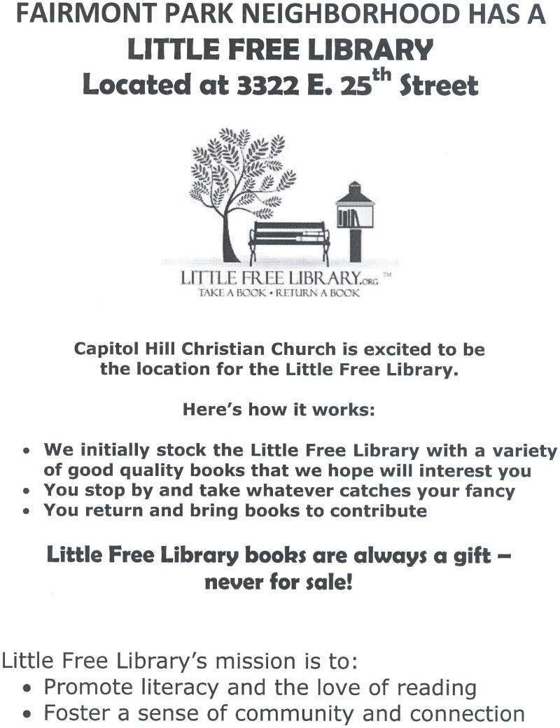 Free Library                             Information